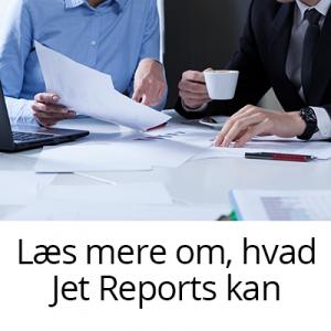 jet report økonomiske månedsrapporter