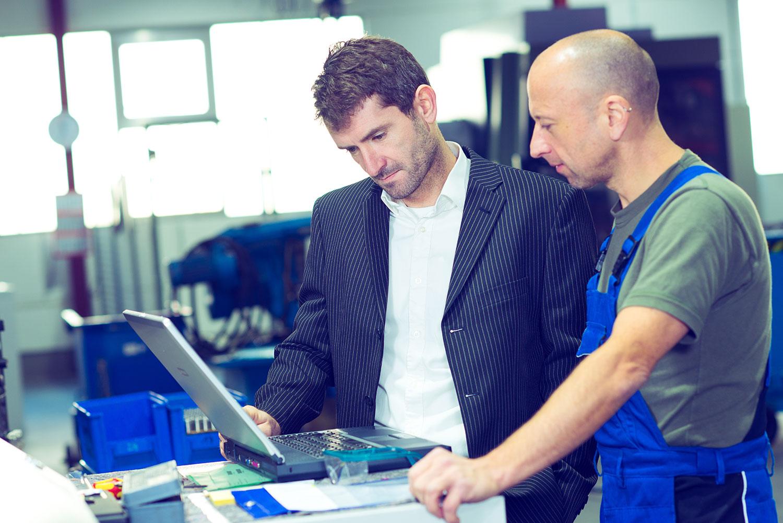 Dynamics 365 Business Central hjælper dig med produktionsstyring